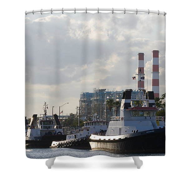 Tugs Shower Curtain