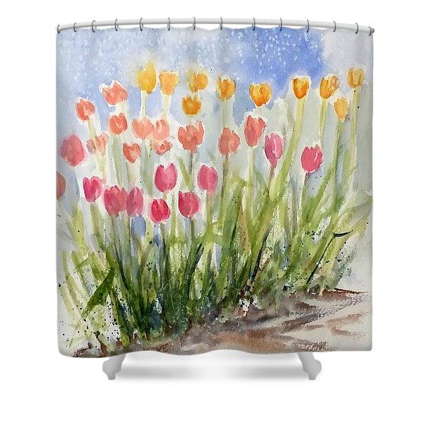 Tulip Abunda Shower Curtain