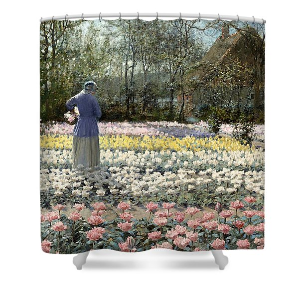 Tulip Culture Shower Curtain
