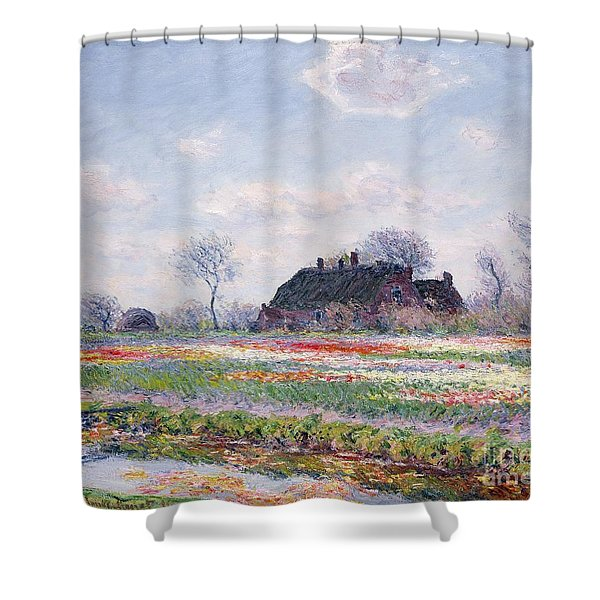 Tulip Fields At Sassenheim Shower Curtain