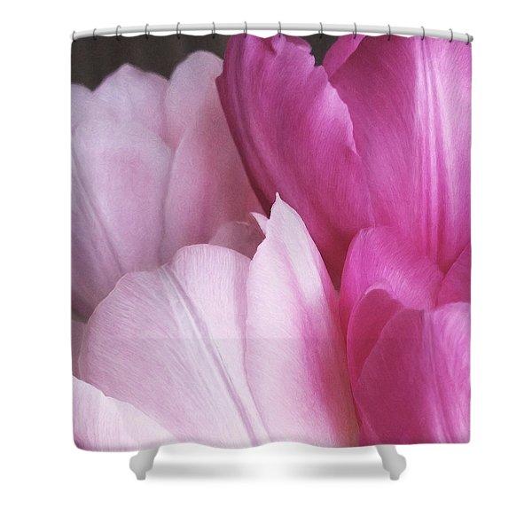 Tulip Petals Shower Curtain