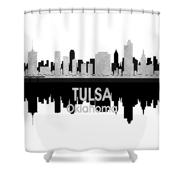 Tulsa Ok 4 Squared Shower Curtain