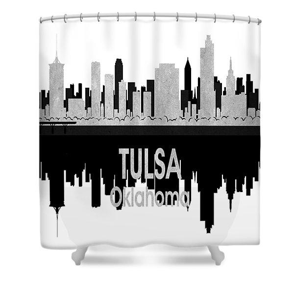 Tulsa Ok 4 Vertical Shower Curtain