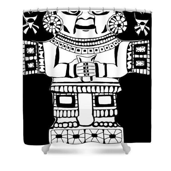 Tumi Knife Shower Curtain