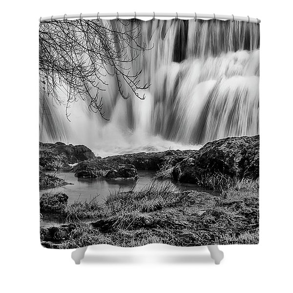 Tumwater Falls Park Shower Curtain