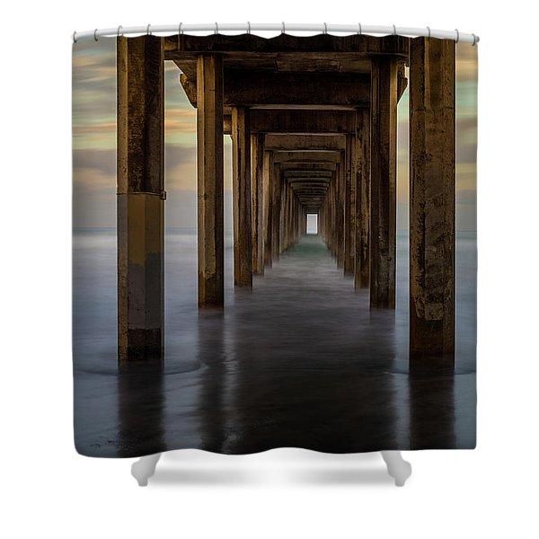 Tunnelscape Shower Curtain