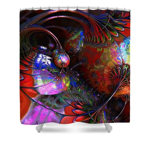 Tuns Of Paint Shower Curtain