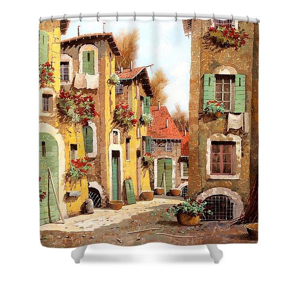 Tuorlo Shower Curtain