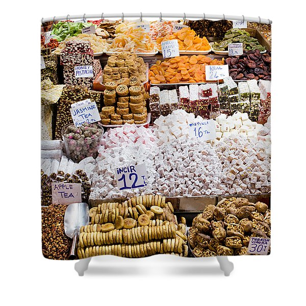 Turkish Delight In Istanbul Shower Curtain
