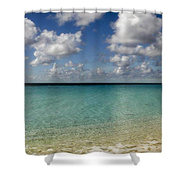 Turks And Caicos Caribbean Shower Curtain