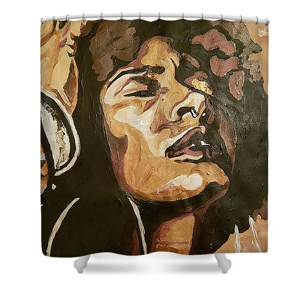 Turn Up The Quiet Shower Curtain