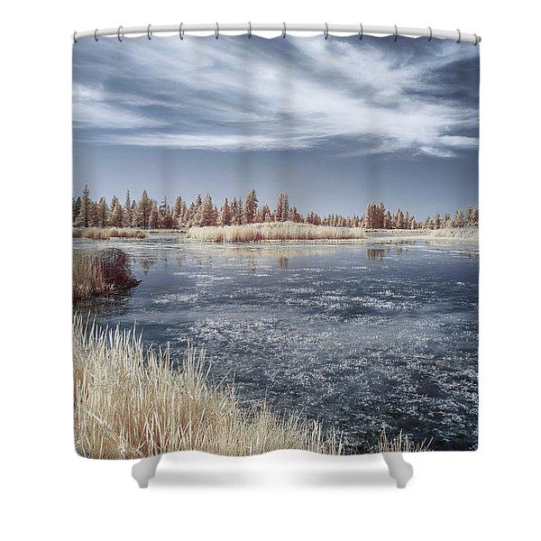 Turnbull Waters Shower Curtain