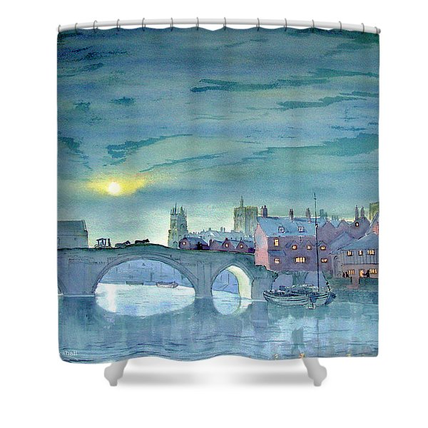 Turner's York Shower Curtain