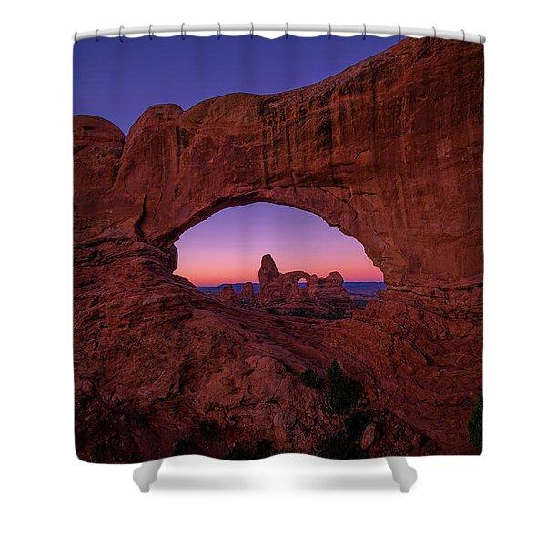 Turret Arche  Shower Curtain