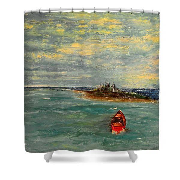 Turtle Bay Shower Curtain