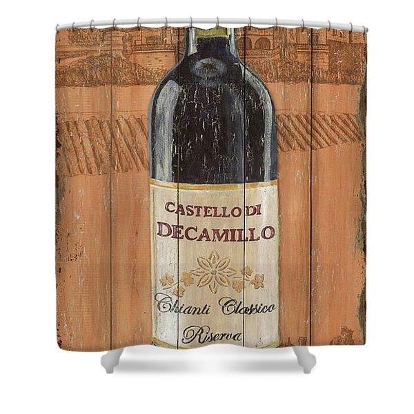 Tuscan Chianti 1 Shower Curtain