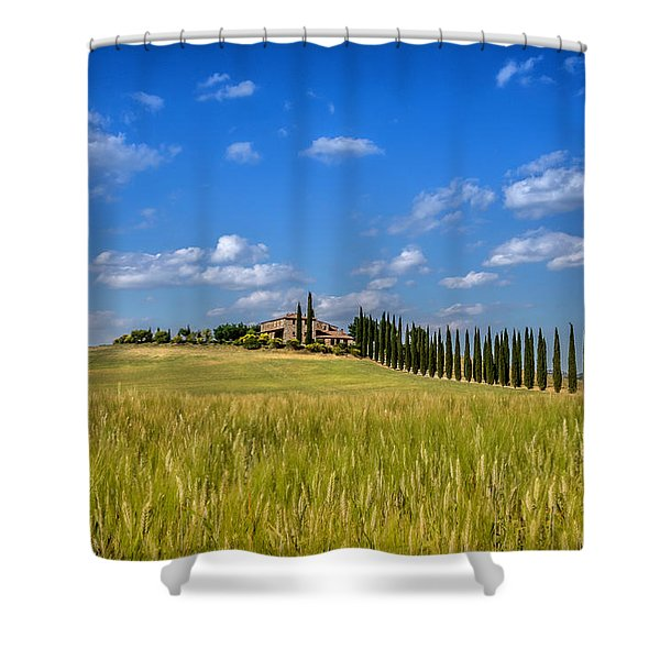 Tuscan Estate 2 Shower Curtain