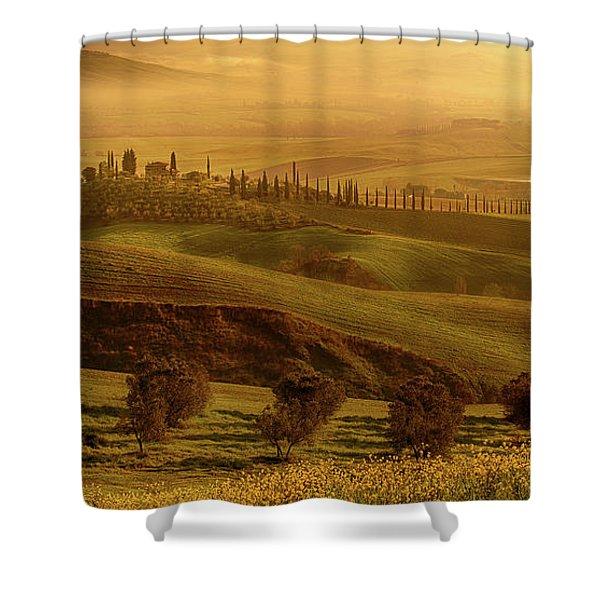 Tuscan Villa Shower Curtain
