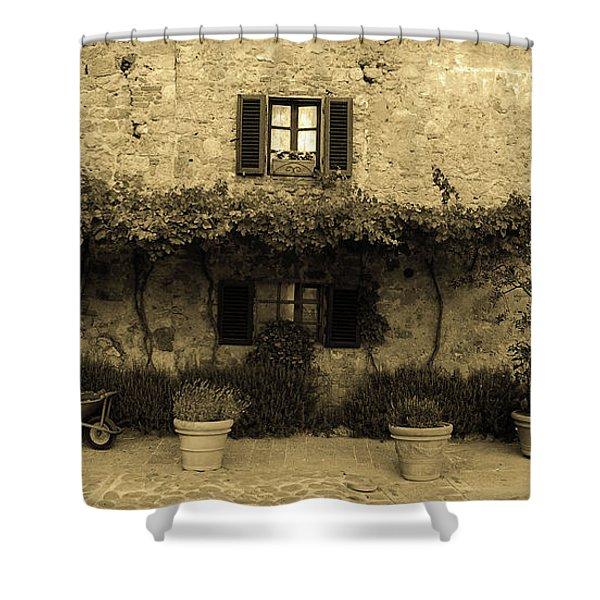 Tuscan Village Shower Curtain