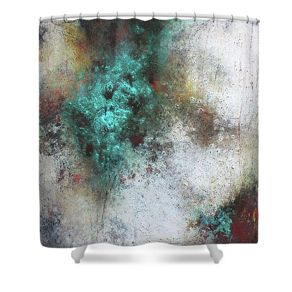 Tuscany Oil And Cold Wax Shower Curtain