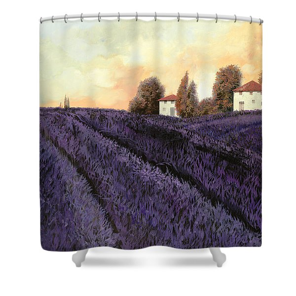 Tutta Lavanda Shower Curtain