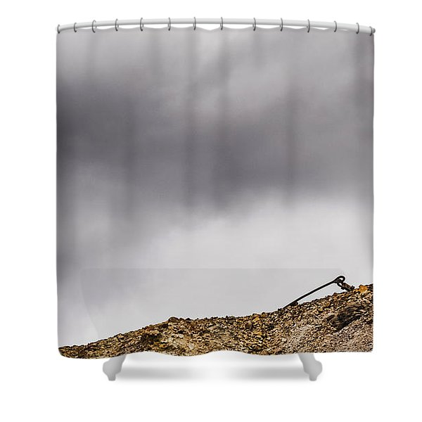 Twice Bent Shower Curtain