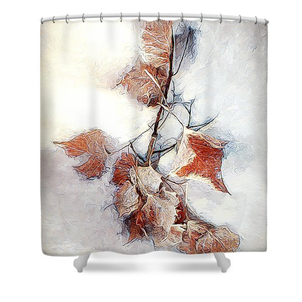 Twigged Shower Curtain