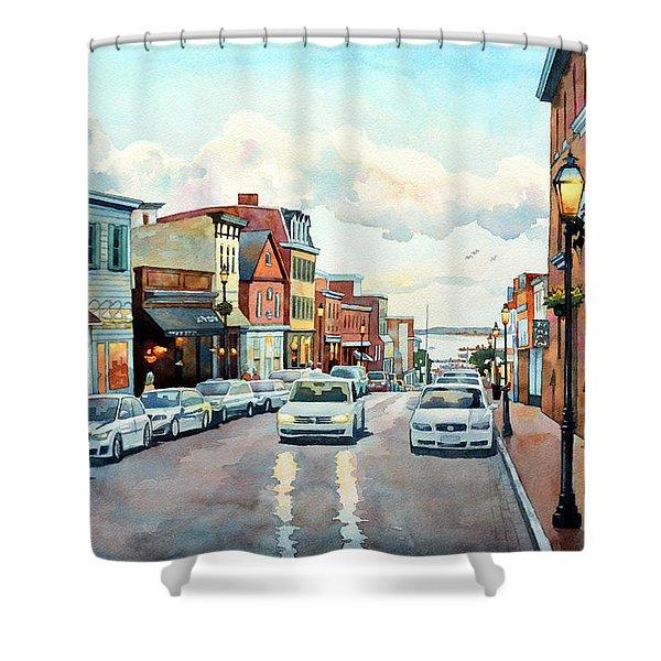 Twilight Annapolis Shower Curtain