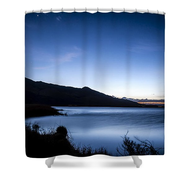 Twilight At Klondike Lake Shower Curtain
