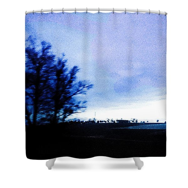 Shower Curtain featuring the photograph Twilight  by Bee-Bee Deigner