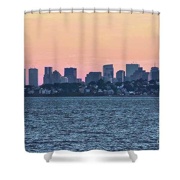Twilight Boston Shower Curtain