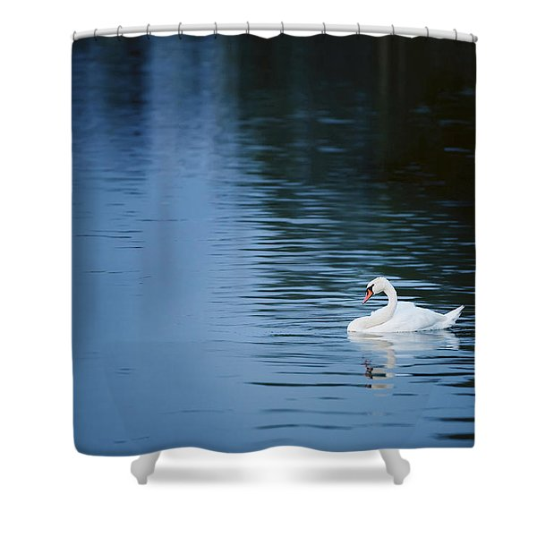 Twilight Drift Shower Curtain