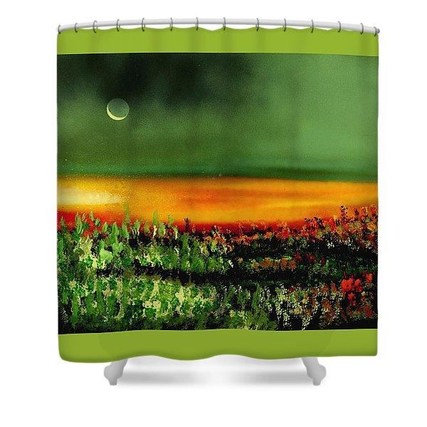 Twilight Field Shower Curtain