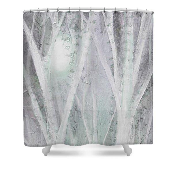 Twilight In Gray I Shower Curtain