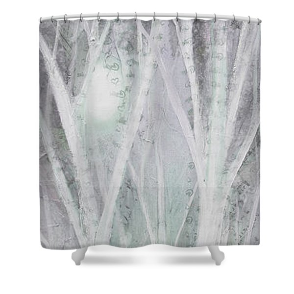 Twilight In Gray I Shower Curtain