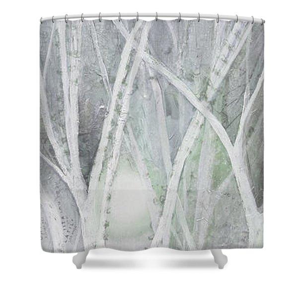 Twilight In Gray II Shower Curtain