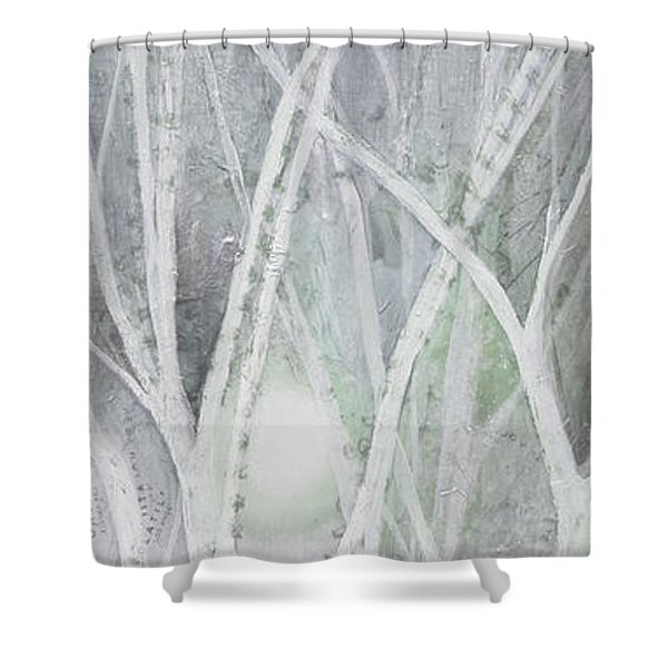Twilight In Gray II Shower Curtain