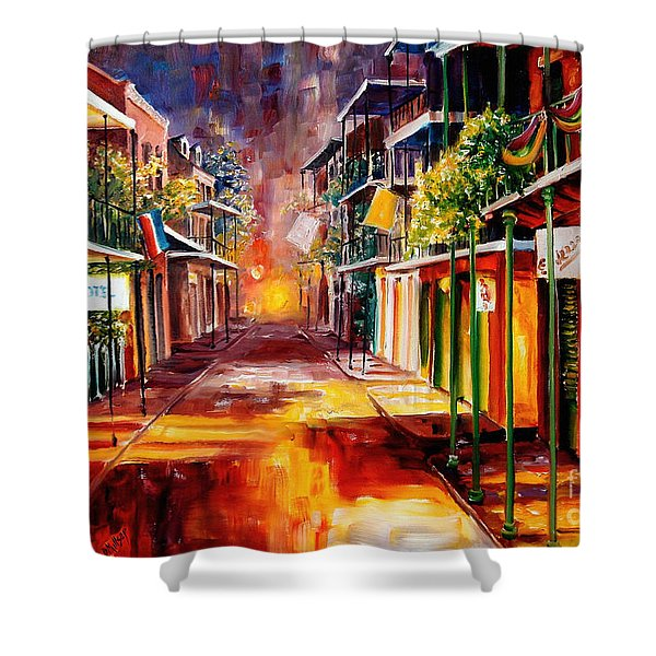 Twilight In New Orleans Shower Curtain