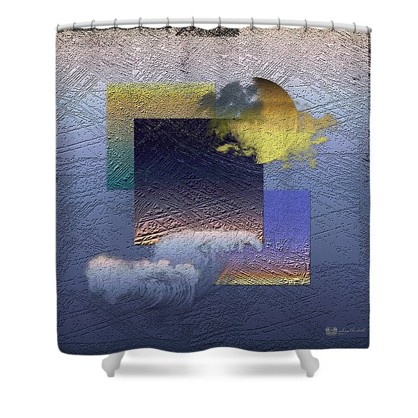 Twilight Interrupted By Ocean Breeze Shower Curtain