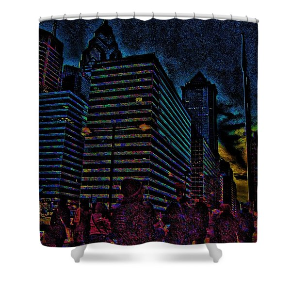 Twilight Of Uncertainty Shower Curtain