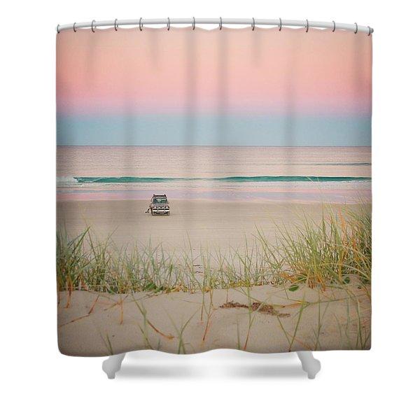Twilight On The Beach Shower Curtain