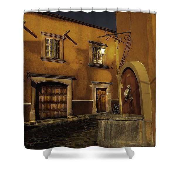 Twilight On The Corner Shower Curtain