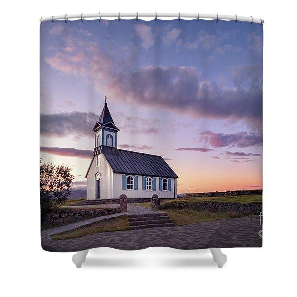 Twilight Sanctuary Shower Curtain