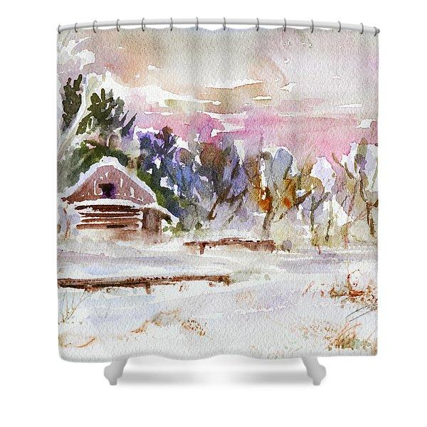 Twilight Serenade I Shower Curtain