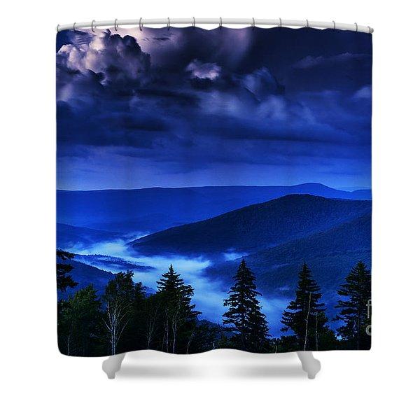 Twilight Thunderhead Shower Curtain