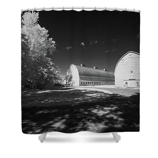 Twin Barns Shower Curtain