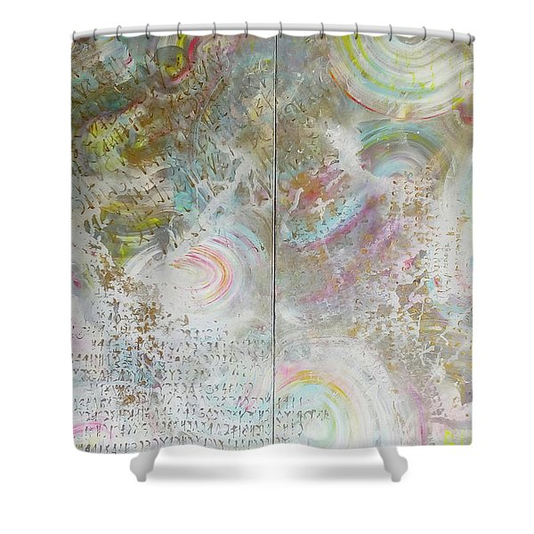 Twin Spica Shower Curtain