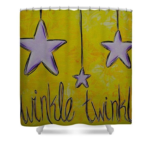 Twinkle Twinkle Shower Curtain