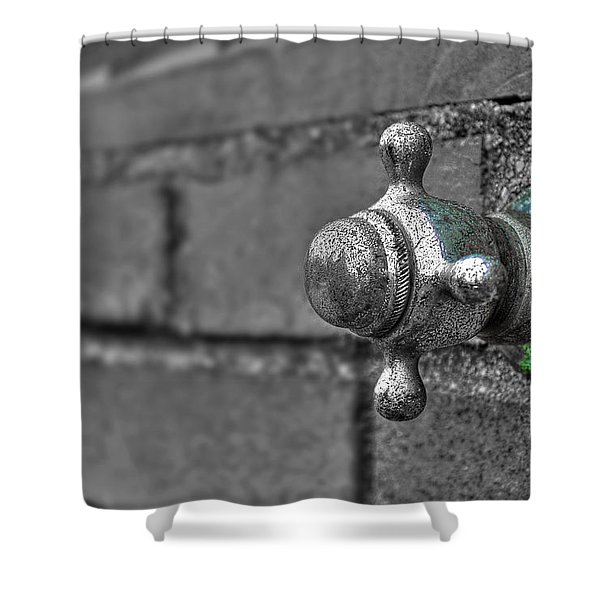 Twist And Turn Shower Curtain