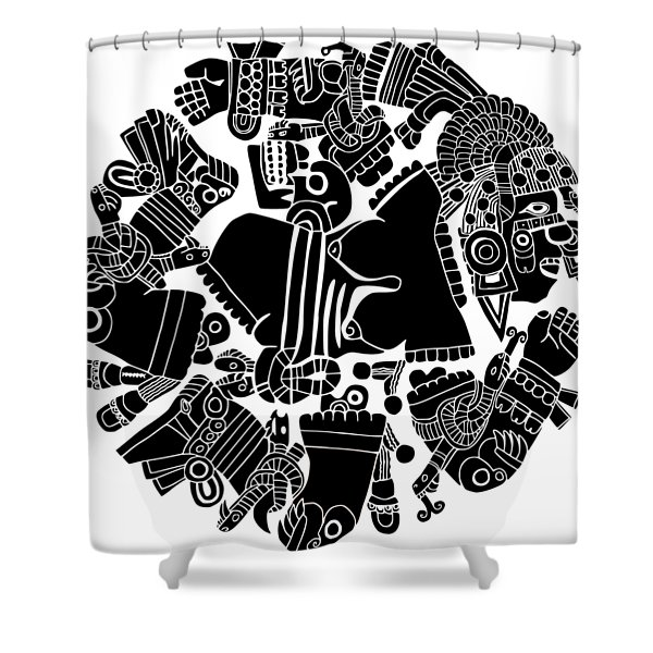 Twisted Day Shower Curtain